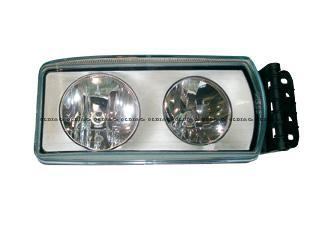 13.028.16508 Optics and bulbs → Complete headlamp